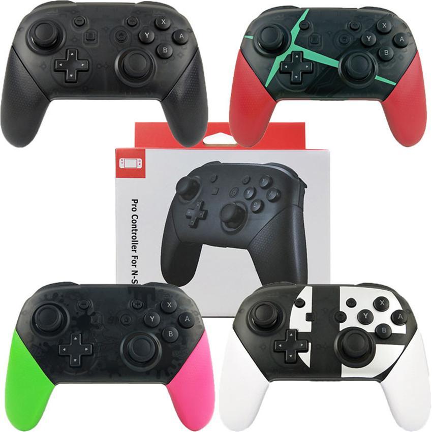 اللاسلكية بلوتوث برو تحكم Gamepads ل N-Switch NS-Switch Console Gamepad Video Game USB Juystick Switch Controlers