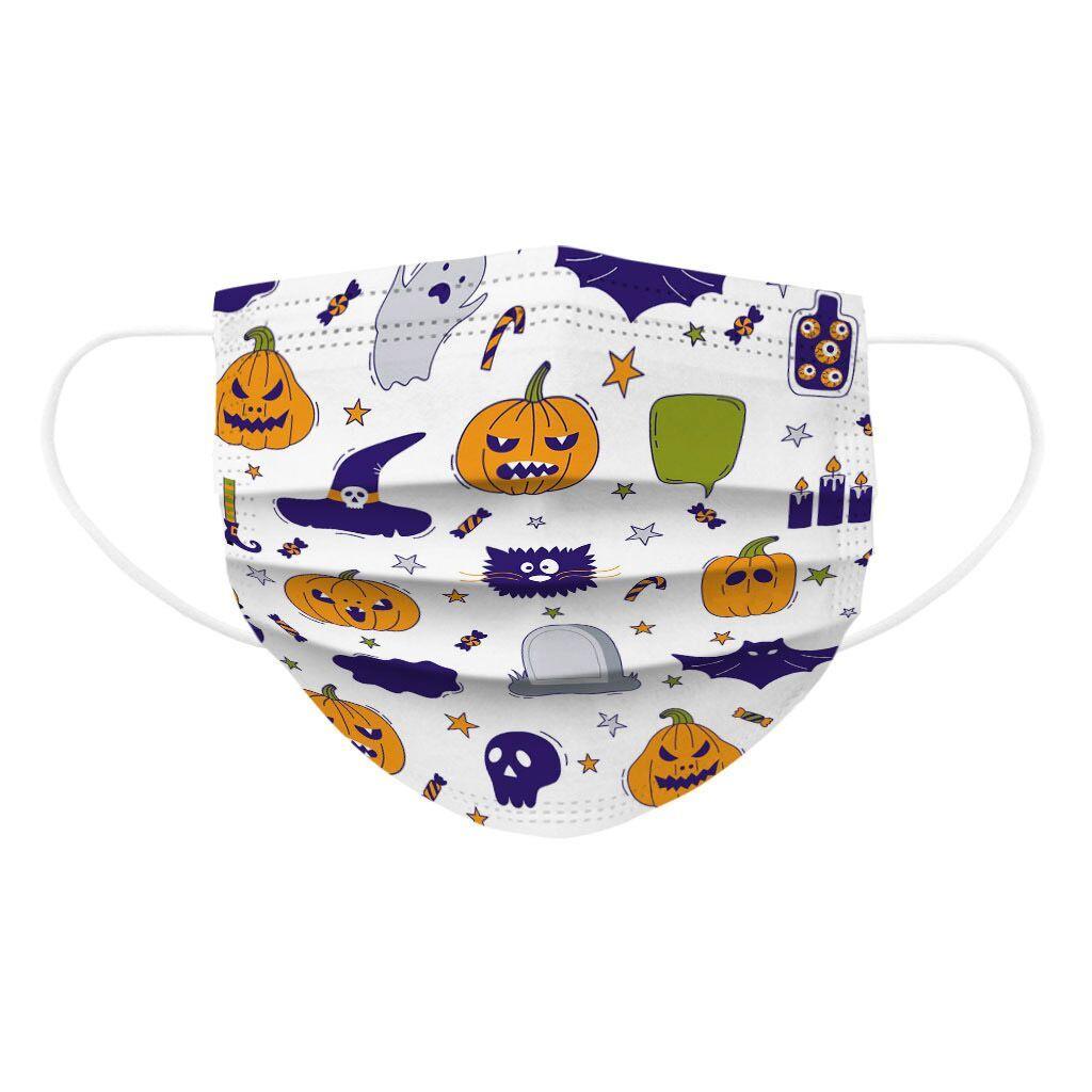 10000pcs 14.5*9cm Children's Mask Disposable Face Masks 3ply Ear Loop Halloween CosplayChild Kids Face Mask Mascarillas