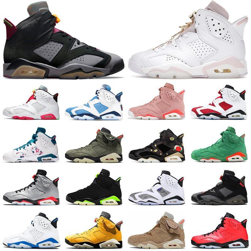 6 6s jumpman zapatillas de baloncesto QuaiI 54 Vela Brown Deporte Azul Hare Aleali mayo para hombre zapatillas de deporte entrenadores deportivos