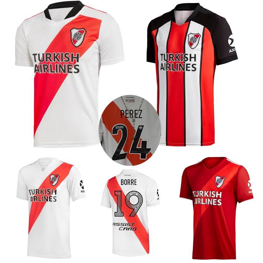 2020 2021 Речная тарелка Футбол Джерси Главная Выезд 3RD 19 20 Пратто Фернандес Scocco Palacios Campeon Libertadores Футбольные рубашки
