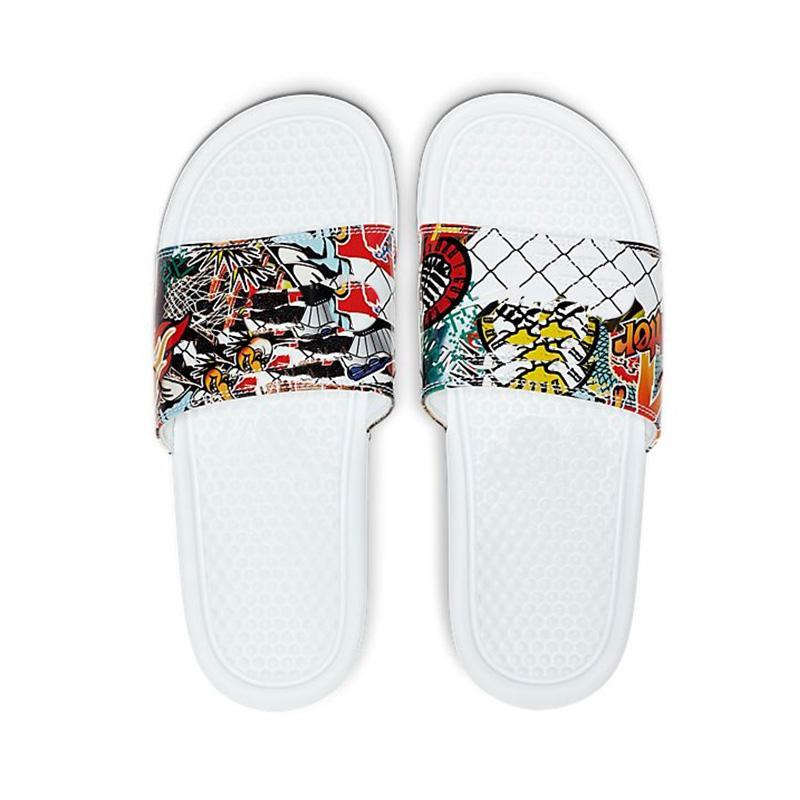 2021 Summer Beach Pantoufles Benassi JDI Mismachatch Intérieur G Plat G Sandales Maison Flip Flip Spike Sandal avec boîte 36-45