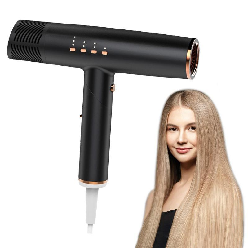 Asciugatrice Asciugatrice Intelligente Controllo della temperatura Fast e Frizz-free Blow Asciugatura professionale per Smoother 220V Pennelli per capelli elettrici 220V