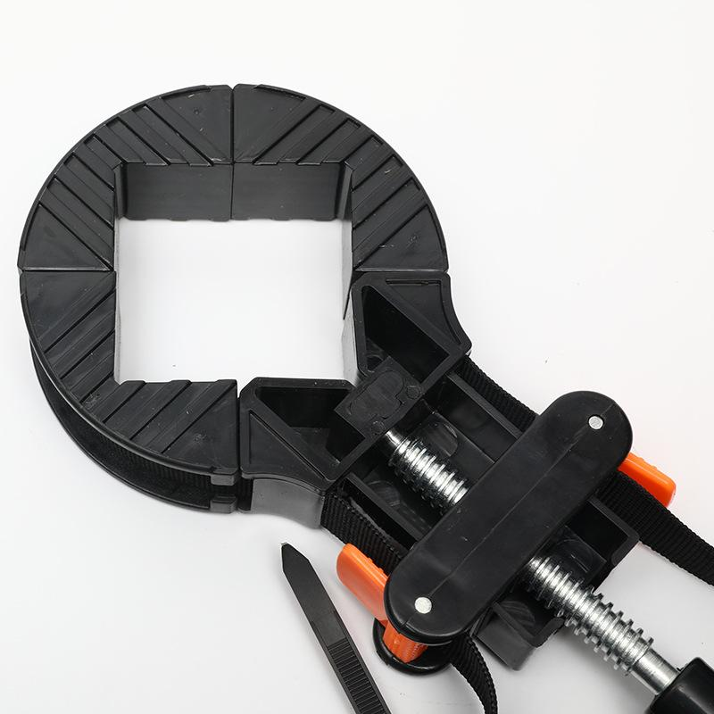 다기능 클램프 빠른 조정 가능한 밴드 모서리 클램프 다각형 목공 아트 공예 서랍 캐비닛 사진 프레임 코너 클립 905 R2