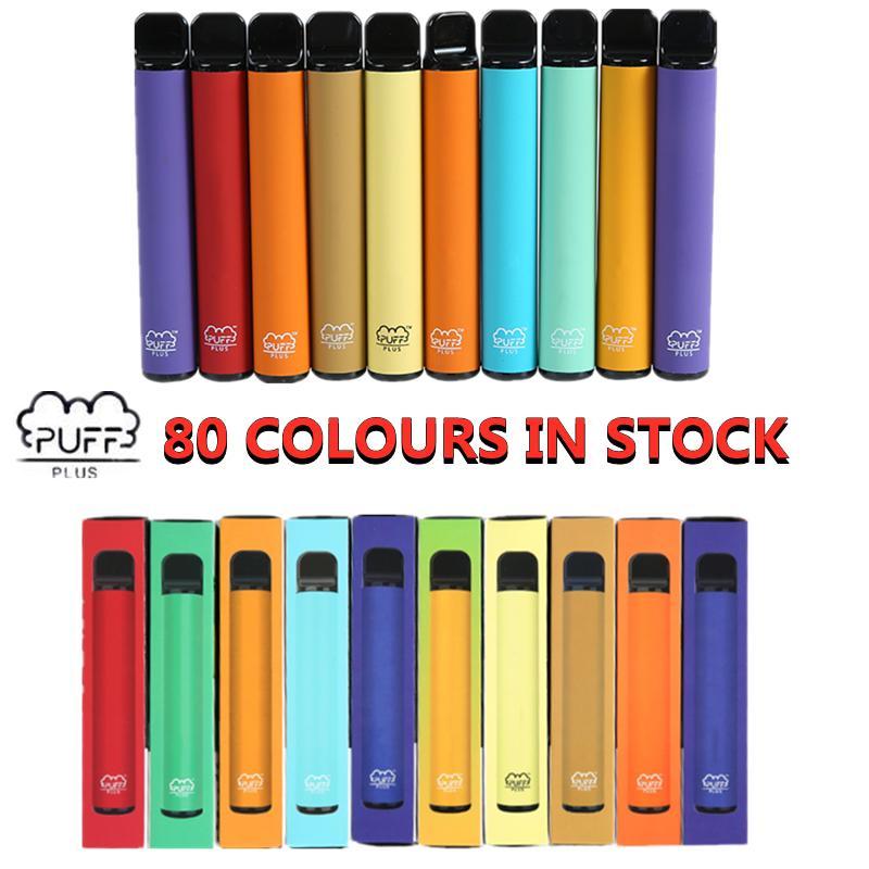 Puff bar Plus Batteria del dispositivo monouso 3.2ml Pod 80 colori Nessuna manutenzione Ricarica o ricarica XXL Max Double Bang XXL Air Bar LUX