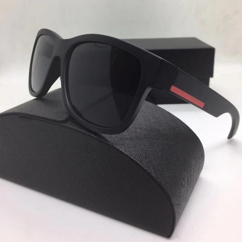 Occhiali da sole Summer Beach per uomo e donna Driving Goggle Goggle Occhiali da sole di Mens Donna Modello sovradimensionato con scatola
