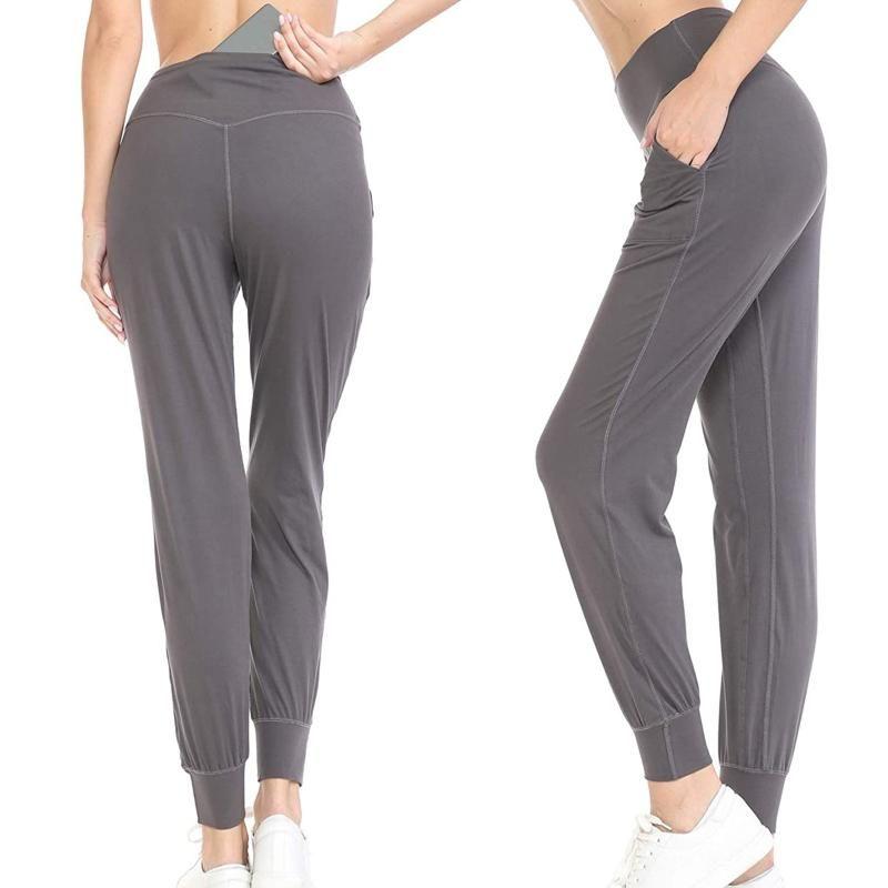 Womens Athletic Elastic Moda Yoga Push Up Leggins Sport Shorts Sweatpants Bolsos Calças Femininas Leggings