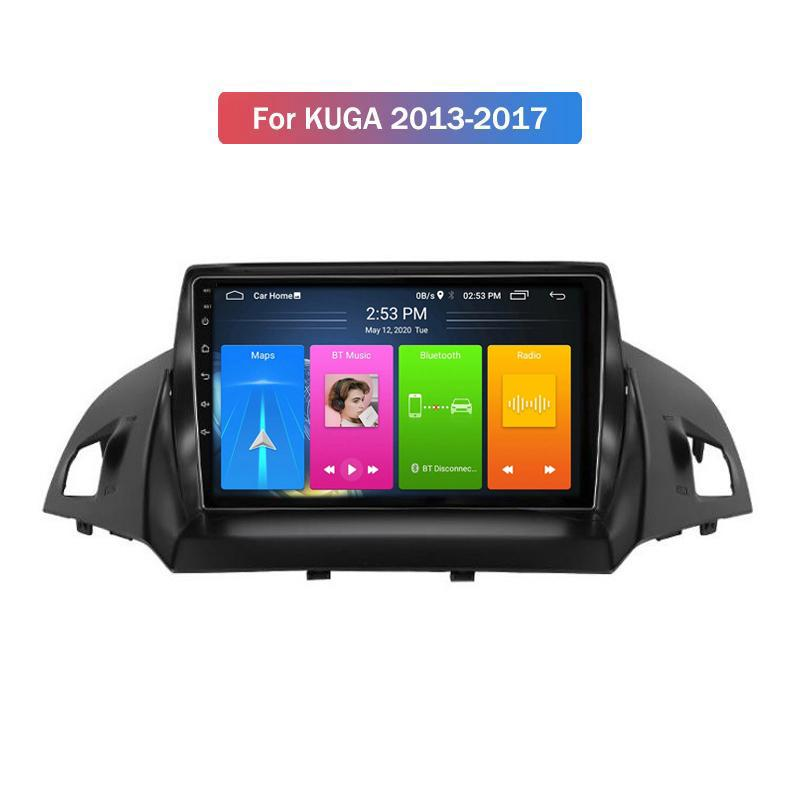 4 core 2 din car dvd player android navigation for ford KUGA 2013-2017 radio multimedia system gps bluetooth