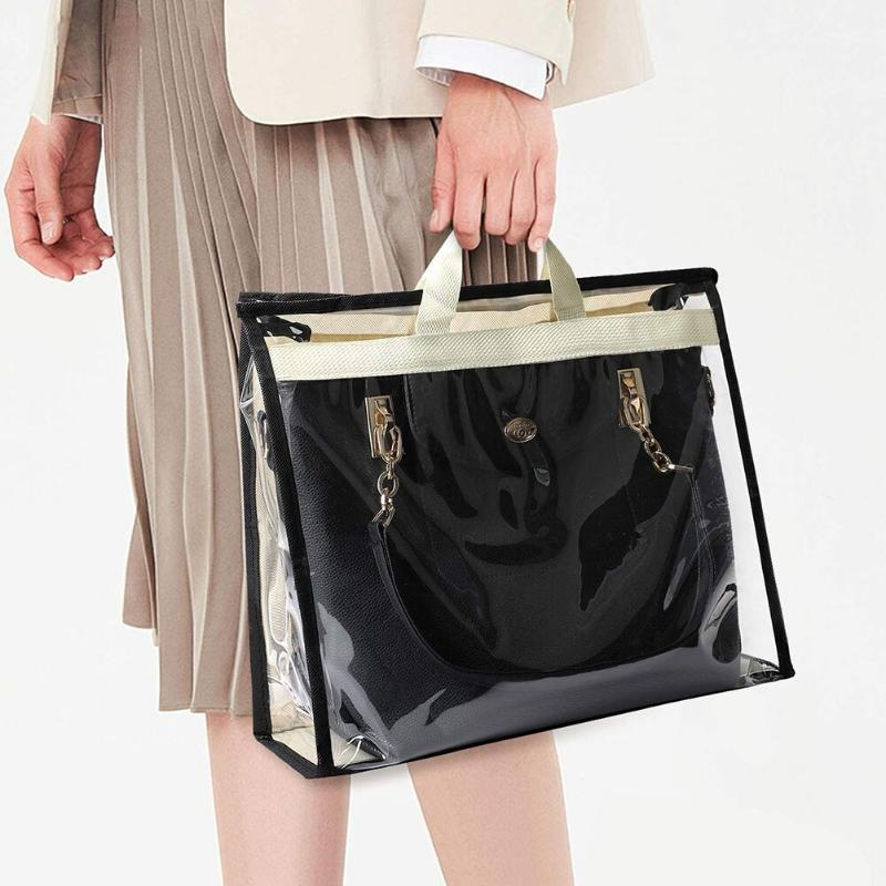 Armário de guarda-roupa capa de poeira à prova de umidade transparente Proteger pendurado para suprimentos de quarto sacos de armazenamento saco de bolsa
