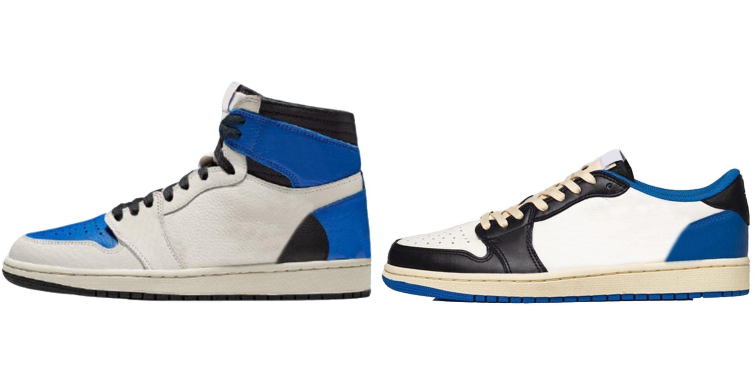شظية أصيلة x ترافيس سكوت تصميم 1 عالية og ts sp الرجال الأحذية المنخفضة العسكرية الأزرق 1 ثانية الشراع أسود خجول الوردي امرأة DH3227-105 أحذية رياضية في الهواء الطلق مع مربع الأصلي DM7866-140