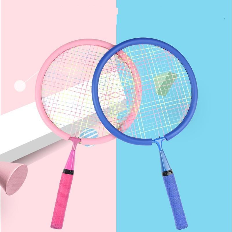 Yeni Aile Çocuklar Eğlence Açık Eğitim Badminton Raket Setleri Spor Z1202 1047 Z2