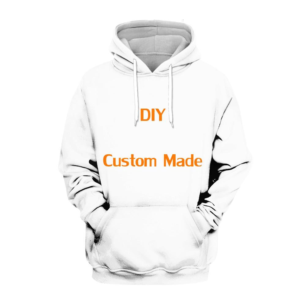 Женские толстовки для толстовок PLSTAR COSMOS DIY пользовательские изготовленные 3D капюшоны TEE мужчины женские толстовки с капюшоном с длинным рукавом пуловер стиль T0ZB