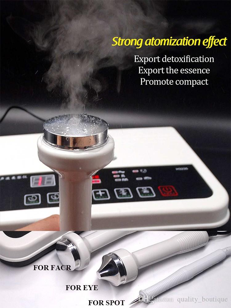 3 in 1 ultrasonic beauty instrument full body massager, used for facial lifting and detoxification, whitening dark spots, freckles, anti-agin