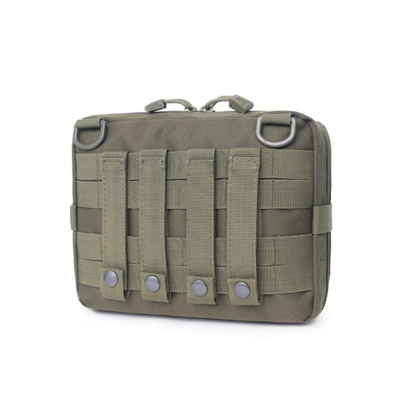 Sacos ao ar livre Táticas Molle Bolle Bag Bag Pocket Pack Utility Gadget Gear para Caça Multi-ferramenta Acessórios Primeiros Aids