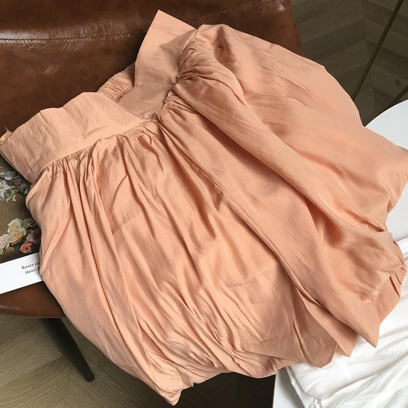 Jupes haute taille, lâche et mince, fermeture à glissière, jambe large, tempérament de la jupe courte, mode femme, loisirs, style étranger 4.3