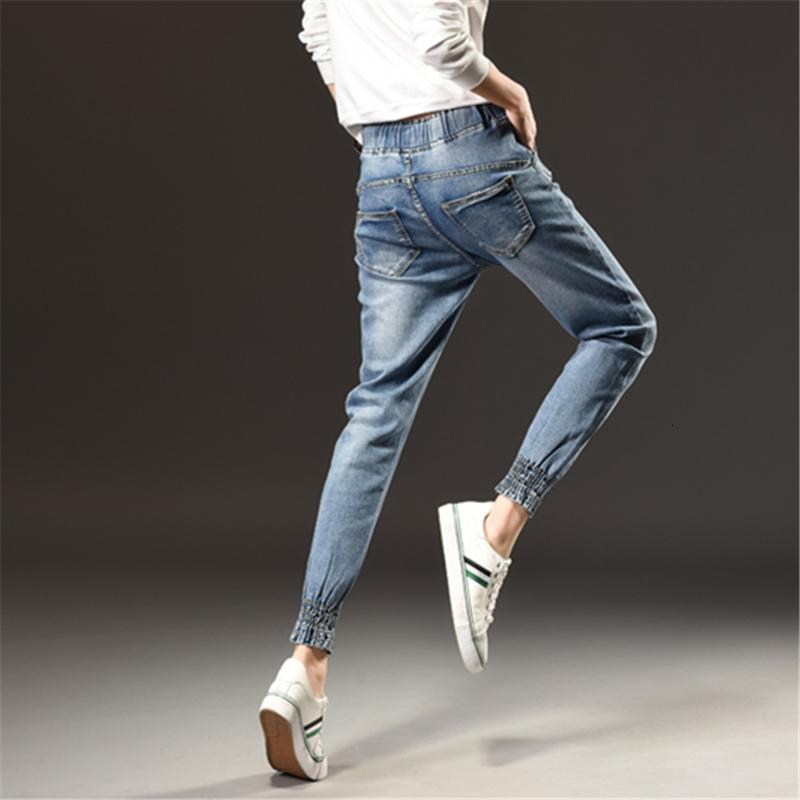 Осень зима мода середина талии джинсы женщина большой размер s-5xl досуг тонкий эластичный талию дамы винтаж харлан брюки женские джинсы оптом