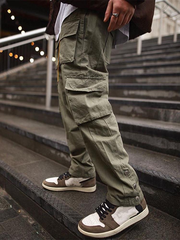 Pantalons de cargaison hommes 2021 HIP HOP STREETWEAR Pant Jogger Pant à la mode Gyms Fitness Casual Joggers Sweatpants