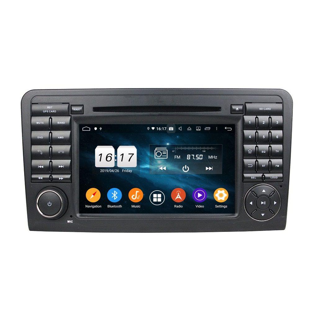 "4GB + 128GB PX6 7 ""Android 10 자동차 DVD 플레이어 Mercedes-Benz ML-Class W164 ML300 / 350 / 450 / 500 GL-Class X164 GL320 / 350 / 420 / 450 / 500 DSP 스테레오 라디오 GPS WiFi Bluetooth 5.0"