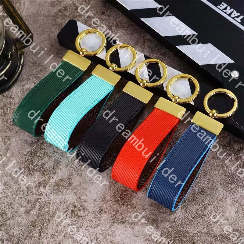 G Luxury Fashion Designer Cintas Handmade Pu Couro Carro Keychain Mulheres Saco de Mulheres Charme Acessórios Pingente