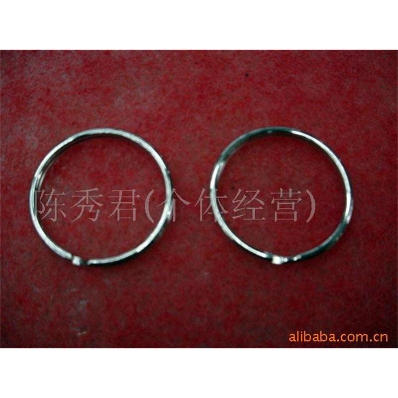 Llavero llavero, corona de aleación, anillo D, anillo de 8 anillos, anillo de la vesícula biliar de cerdo