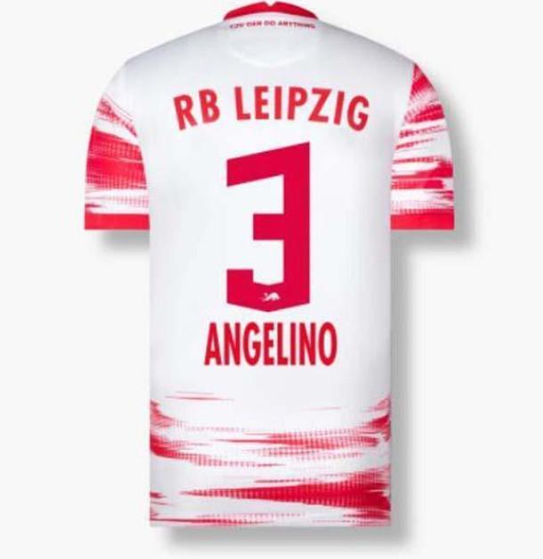 2021 2022 RBL 축구 유니폼 Poulsen Forsberg 21/22 Bundesliga Sabitzer Adams Olmo Men Camisetas de Fútbol 축구 셔츠 훈련 태국어