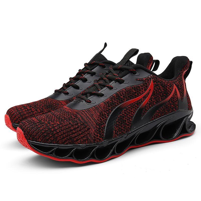 2021 En Kaliteli Kahverengi Stil3 Alev Gri Koşu Ayakkabıları Altın Kırmızı Siyah Dantel Yumuşak Yastık Genç Erkekler Boy Kesim Tasarımcı Sneakers Spor Eğitmenleri