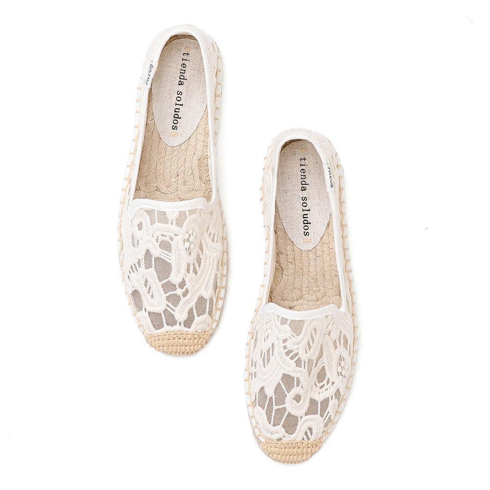 Dress Shoes Alpargatas femininas com calçado, sapatos baixos da moda, , de ballet feminino, alpargatas linho, chinelos confortáveis UBDO