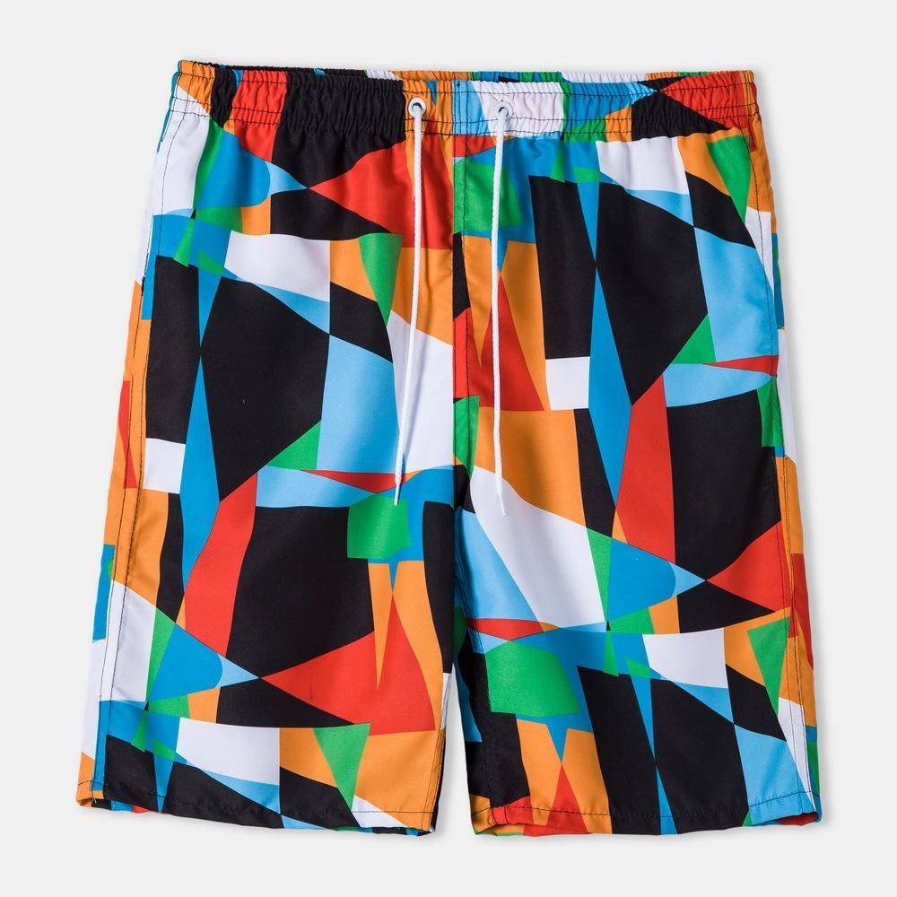 الصيف السراويل الشباب الاتجاه زائد حجم عارضة شاطئ خمسة نقطة السراويل جودة عالية أزياء الرجال السراويل