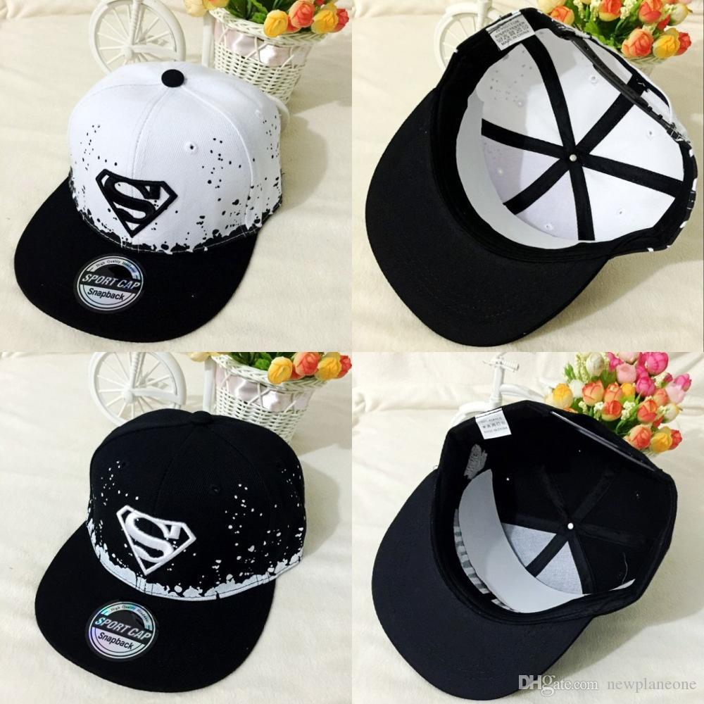 الظل الربيع الرجال النساء سوبرمان قبعة بيسبول قابل للتعديل التطريز snapback قبعة للجنسين القطن الجلود الهيب هوب قبعات 2020 أزياء جديدة bag4228