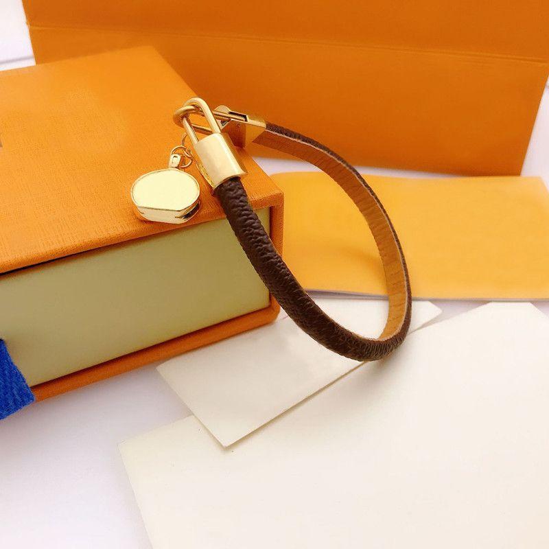 Женщина браслет мода браслеты для мужчины женские кожаные цепочки ювелирных изделий унисекс браслет 2 стили хорошее качество с коробкой