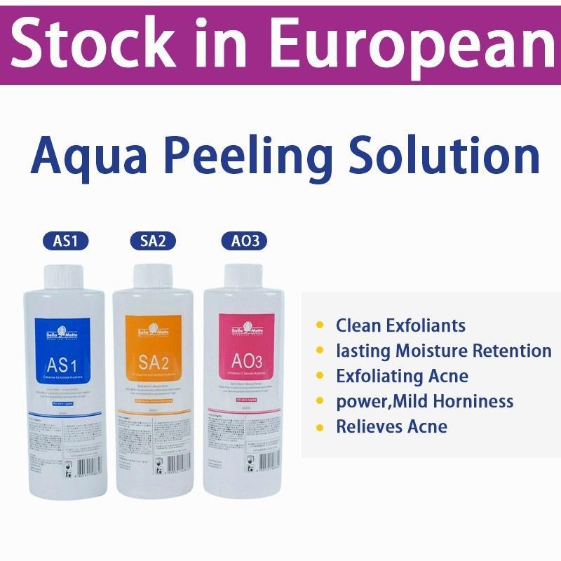 Hydrafacial Machine Use Aqua Peeling Solution 400 Ml Per Bottle Aqua Facial Serum Hydra Facial Serum for Normal Skin Aqua Peeling Solution