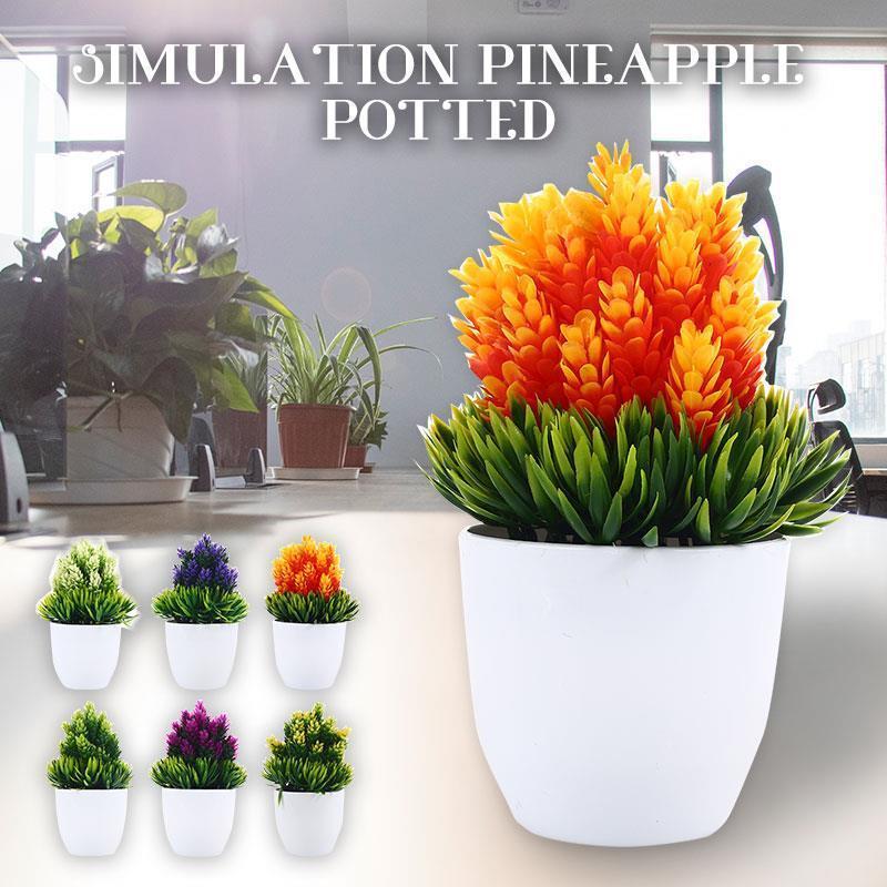 Plastik Bahçe Yapay Çiçek Güzel Moda Simülasyon Çiçek Sahte Bitki Dekorasyon Süs DIY Düğün Hediyesi Y0314