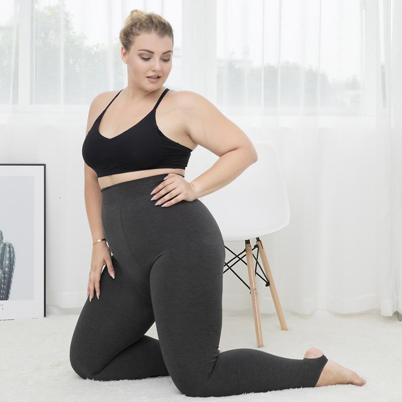 300 jin große größe fette mm leggings frauen herbst und winter warm plus cashmere cottel elastische schlanke hosen