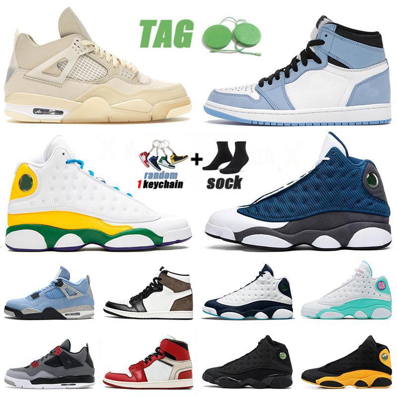 sapatos retro 13 13s New Jumpman Flint 2020 Basketball Shoes Homens mulheres sobem verde Playground Lakers criados tênis Tamanho EUR 47