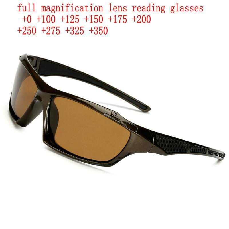 Sunglasses 2021 Mens Full Reading For Men Outdoor Sports Windproof Sand Presbyopic Goggles Eyewear UV Protection NX