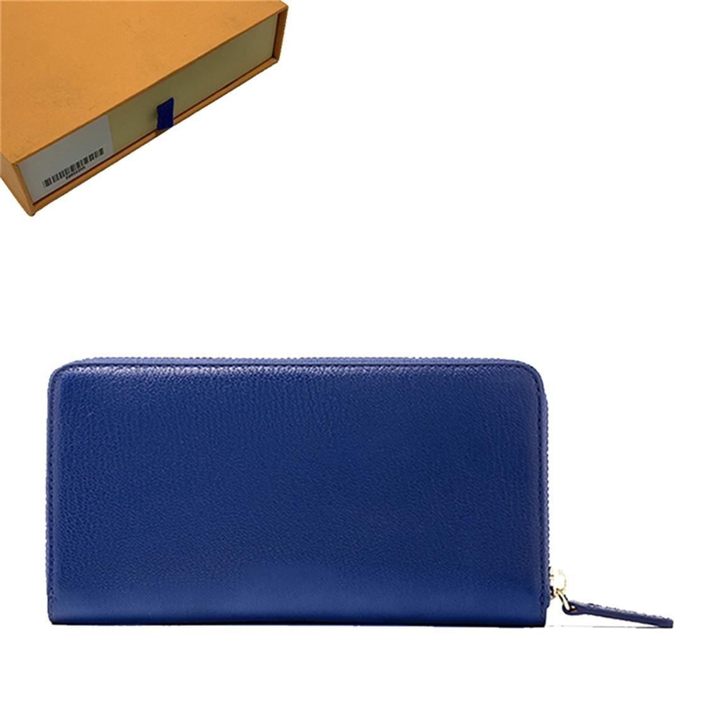 Moda Designer Carteira Bolsa Zippy Wallet Lady Wallets Dobra Cartão Titular Passaporte Titular Carteiras Mulheres Mulheres Dobradas Bolsas Moeda de Moda # 003