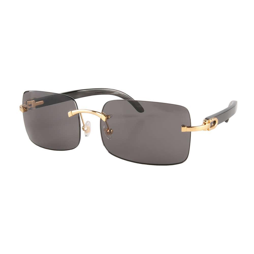 Rectángulo cuadrado óvalado óvalo ojo ojo mariposa sin rimo sin montar chapado en oro búfalo búfalo bronce gafas de sol