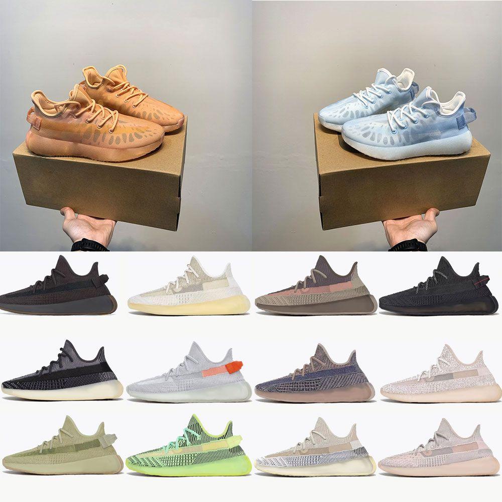adidas yeezy yeezys yezzy yezzys 350 boost Kanye Men V2 Running Zapatos reflectantes al aire libre Oeste Mono Clay Ice Mist Mujer Ash Azul Pearl Stone Cinder Zyon