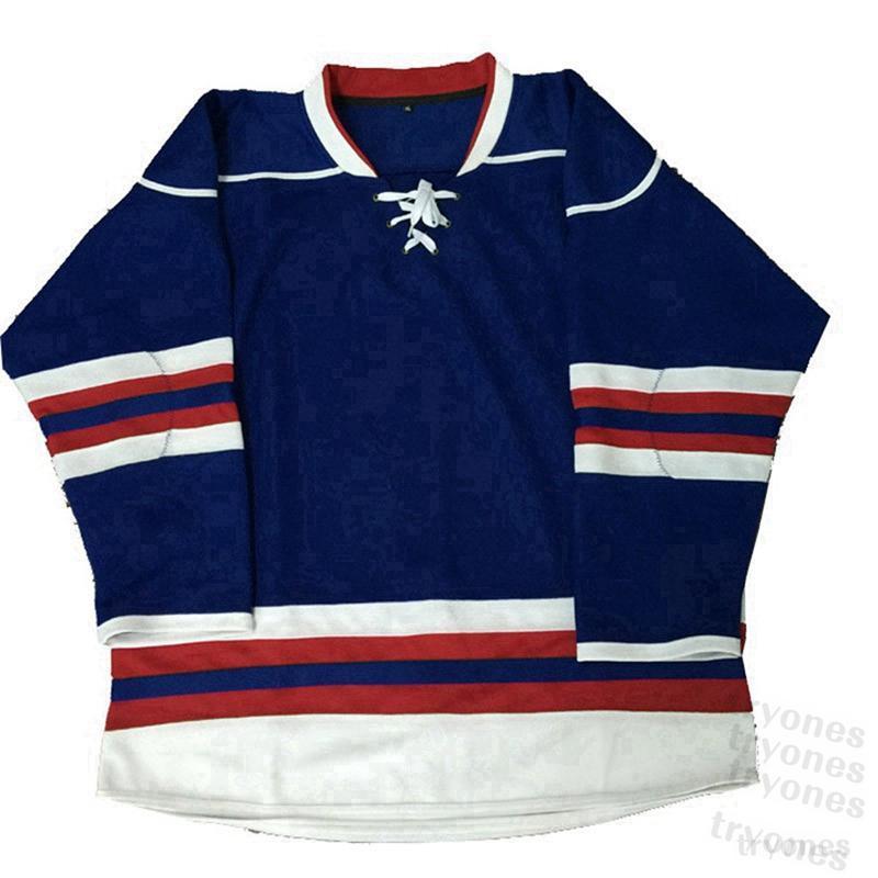 2021 Personalizzato Mens Nero Hockey Jersey Donne Bambini Viola Verde Blu Arancione Arancione Qualsiasi Numero Numero S-XXXL B5