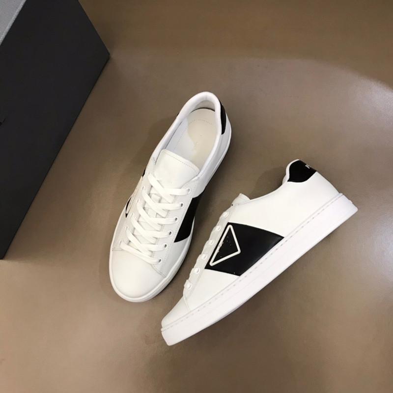 Clássico gráfico masculino casual sapatos casuais cor sólida sapatos de couro preto macio e confortável lace-up rodada dedo do pé sapatos 38-44