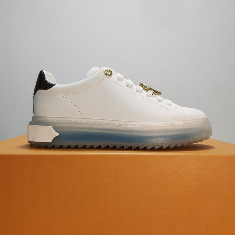 التفضيل الوقت خارج أحذية رياضية جلد طبيعي امرأة الأحذية الفاخرة الأزياء عارضة الحجم 35-40 نموذج HPY01