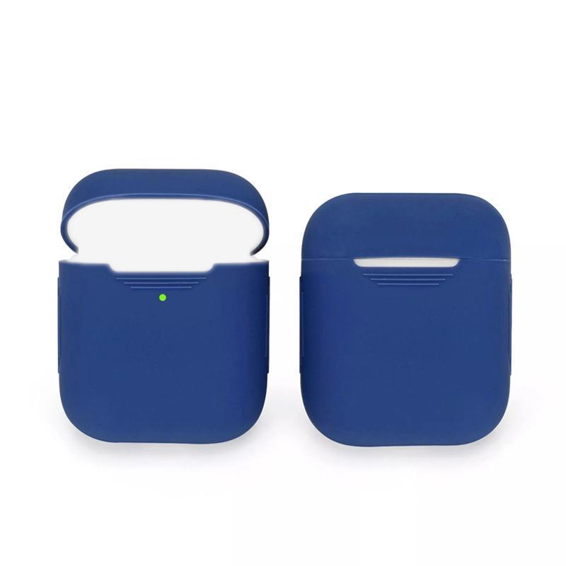 DHL Ship Universal Silicone Écouteur Écouteur pour Pods Gen 1/2 sans fil Bluetooth Bluetooth Cover Coques de protection en silicone de qualité alimentaire