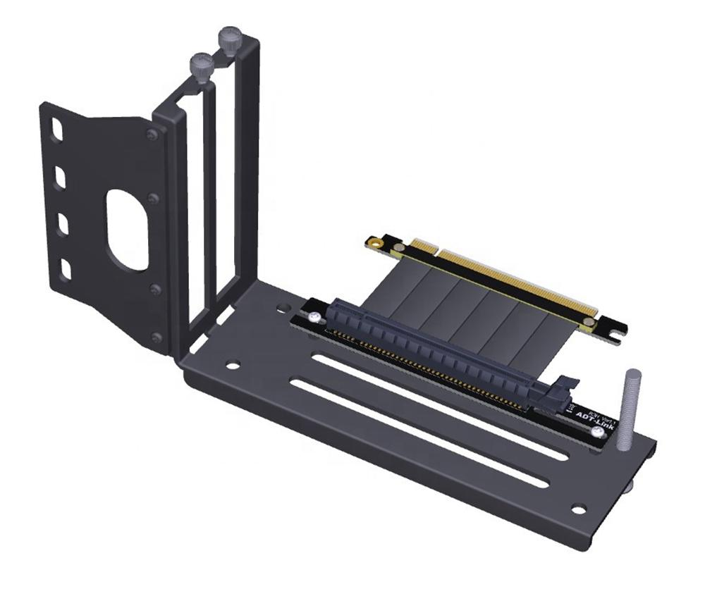 Graphics-Cards Bracket Vertical PCIE-3.0 X16 placa de vídeo gráficos para PCIE 3.0-X16 Cabo de extensão de slot para Chassi ATX