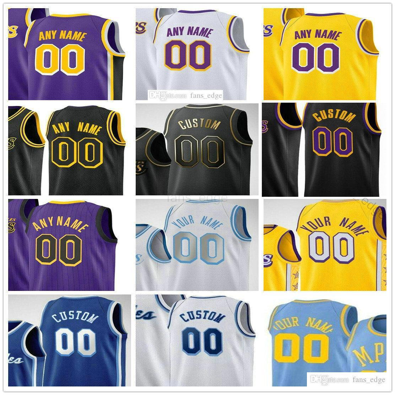 Özel Baskılı Los Angeles 6 Anthony 3 Lebron Davis James Carmelo 7 Dwight 39 Howard Malik 11 Keşiş Russell 0 Westbrook 12 Nunn Erkekler Kadınlar Çocuklar Gençlik Basketbol Formaları