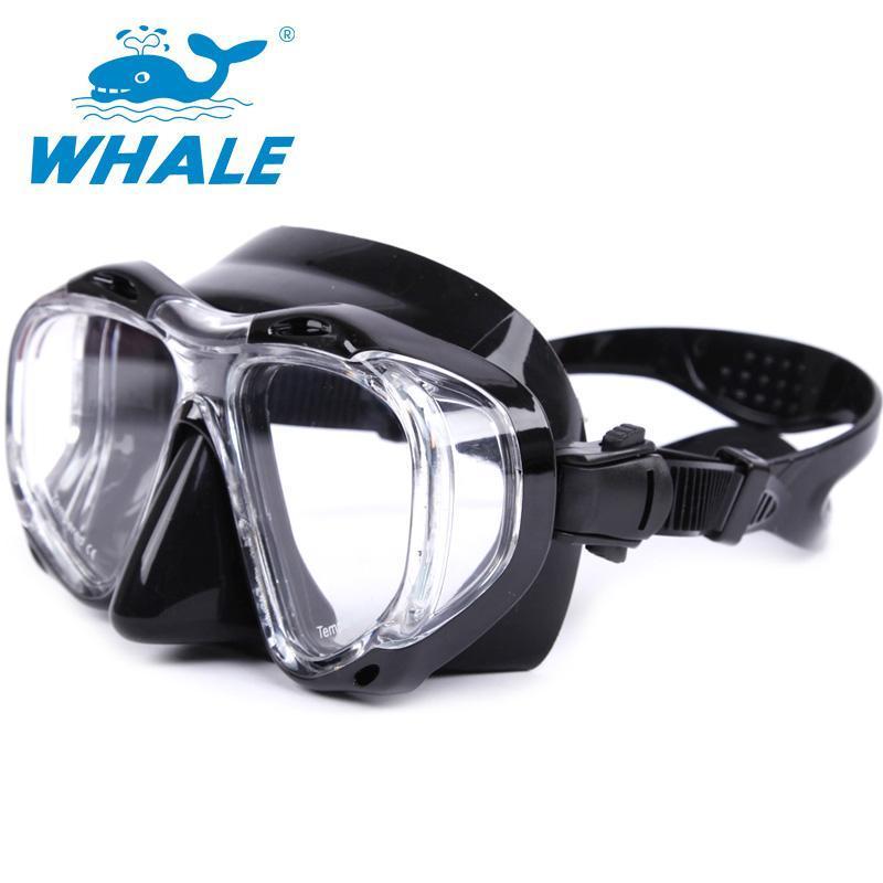 Profissional subaquática máscara de mergulho máscara anti nevoeiro para engrenagem de spearfishing natação surfando máscaras óculos de óculos de óculos