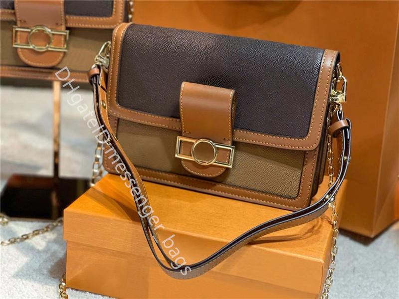 2021 luxo famosos bolsas de designer bolsas de ombro cross body embreagem senhora saco de moda de couro genuíno couro clássico sela as mulheres simplicidade 1955 Horsebit Crossbody