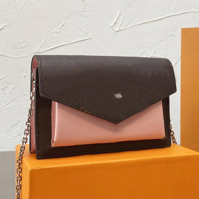 Crossbody Bag Messenger Bags Women Flap Handbags Wallet Fashion Letter Patchwork Color Detchable Chain Shoulder Strap Womens Clutch Zipper Purse Multi Pochette