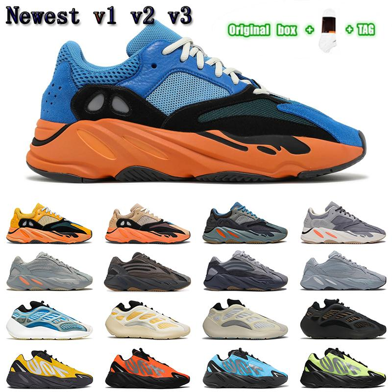 2021 wave runner 700 v1 v2 v3 mnvn men women shoes Safflower Sun Clay Brown Azareth Alvah Azael Bone Inertia sports sneakers trainers