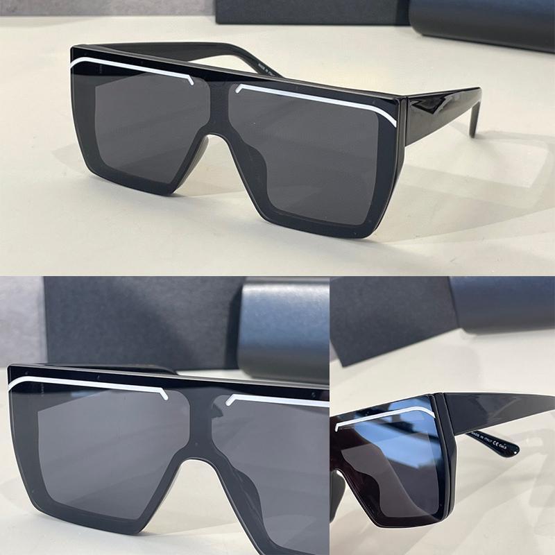 Kadınlar için Güneş Gözlüğü Yaz Stil 0008s Anti-Ultraviyole Retro Plaka Görünmez Çerçeve Moda Gözlükler Rastgele Kutu