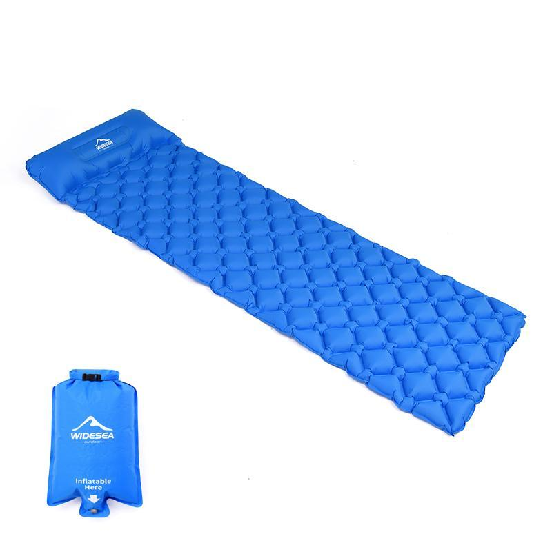 Outdoor Pads Camping Sleeping Pad Inflatable Air Mattresses Mat Furniture Bed Ultralight Cushion Pillow Hiking Trekking