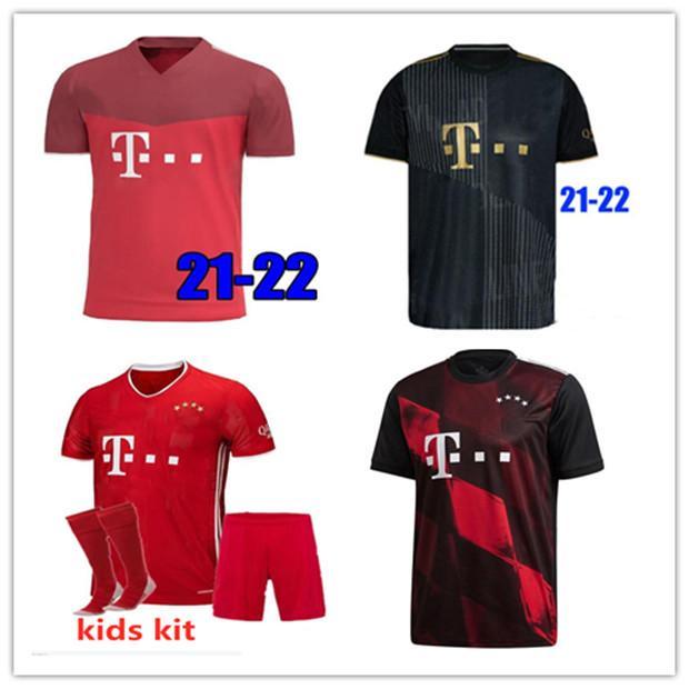 Tailândia 20 21 Bayern Munich SANE GNABRY COUTINHO Davies Camiseta de futebol LEWANDOWSKI HERNANDEZ Uniformes de futebol Britische fußballtrikots